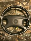 BMW 3 series steering wheel with air bag leather covered 318i 325i