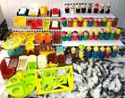Vintage Fisher Price Little People FIGURES Accessories Furniture Lot of 76PC