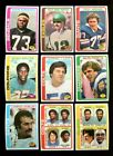 1978 TOPPS FOOTBALL PARTIAL SET 250 DIFFERENT NMMT *216828