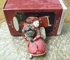 ROSE ANGEL The Language of Flowers - #4 & Final in Series HALLMARK ORNAMENT 1999