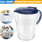 Simpure 35L 15 Cup Water Filter Pitcher with Filter for 3 12 Months BPA Free