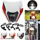 LED Dirt Bike Motocross Headlight Fairing Headlamp For EXC SX WR DRZ KLX KX YZ F
