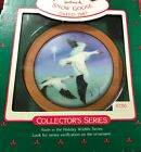 Snow Goose`1987`Sixth In Holiday Wildlife Collection.Hallmark Ornament`NEW`