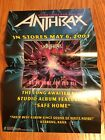 Anthrax - We've Come For You All - RARE - Record store promotional Poster !