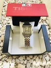 TISSOT QUADRATO STAINLESS STEEL BLACK DIAL CHRONOGRAPH Need to be Check