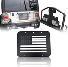 Vijay American flag cover spare tire plate tailgate vent for 97 06 Jeep Wrangler
