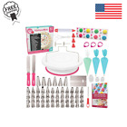 CAKE DECORATING SUPPLIES CAKE DECORATING TURNTABLE STAND 82 PIECES BAKING KIT