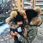 2020 Women Baby Kid Warm Winter Knit Wool Beanie Fur Pom Bobble Hat Crochet Cap