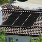 4 x 20 ft Above In Ground Solar Panel Heater System Kit for Swimming Pool