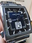 Ulysse Nardin Quadrato Dual Time Blue 42mm 95% LNIB Steel/Ceramic Bracelet 24392