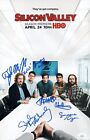 Miller & Middleditch SILICON VALLEY CAST X6 Signed 11X17 Photo Autograph JSA COA