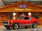 1970 Ford Mustang 1970 Ford Mustang Mach 1  Red Black