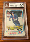 1981-82 O Pee Chee Peter Stastny OPC Rookie BGS 6.5