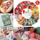 Lot 150 Multi Colors Cross Stitch Floss Cotton Thread Embroidery Sewing Skeins