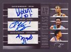 David Robinson Autograph 25 Kevin Johnson Kenny Smith Elite Black Box #4 Auto