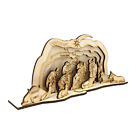 Nativity scene 3D wooden puzzle DIY Christmas gifts adults  children