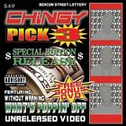 Pick 3 CD by Chingy featuring Without Warning Bonus DVD St. Louis Rap Explicit
