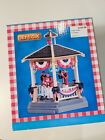 LEMAX - PARK GAZEBO With BAND,Summer Village,Train, Carnival #83365 Table Accent