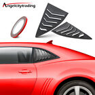 Quarter Side Window Louvers Sun Shade Windshield Fit For Chevy Camaro 2010 2015
