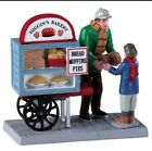 Lemax Christmas Village Delivery Bread Cart 92749 Higgin's Bakery