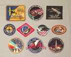 NASA PATCHES LOT of 10 Space Program  Shuttle STS Missions Spacelab Galileo +++