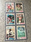 1982 Topps Football Complete Set. Taylor Lott Rookies With Montana 2nd Year