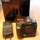 Canon EOS 1D Mark II 8.2MP Digital SLR Camera Boxed cw charger battery