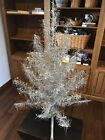 Vintage Aluminum Christmas Taper Tree 4 FT with stand
