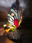 Quoizel Butterfly Tiffany Accent Lamp-Night Light 8.5