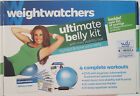 WEIGHT WATCHERS ULTIMATE BELLY KIT MINI STABILITY BALL  DVD NEW F