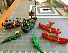 LEGO PIRATE EXTRAVAGANZA river battle! Includes a cannon!