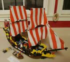 LEGO BLACK SEAS BARRACUDA #6285 COMPLETE?  PIRATE IMPERIAL SOLDIER SHIP