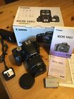 Canon EOS 500D 15.1MP SLR Camera & EFs 18-55mm f/4-5.6 STM upgrade, Boxed mint