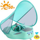 Baby Water Float Floating Float with Canopy  Non Inflatable Solid Pool Lounger