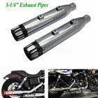 Slip On Mufflers Exhaust Pipes For Harley Sportster XL 1200 883 2014 2017 2016