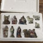 Hawthorne Village Nativity Christmas Tree Holy Family  Nativity Figurines