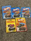 Vintage Lot Of 4 Hot Wheels 1982 And 1 Matchbox 1980 Die Cast Cars