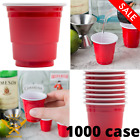 1000 Case 2 oz Mini Red Plastic Shot Glass Party Drink Solo Shooter Cup New