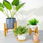 Hlzern Flower StandsPortable Plant Stand Bonsai Garden Rack Plants Pot Shelves