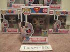 FUNKO POP! CYBORG SUPERMAN #346 2020 SDCC SHARED TARGET EXCLUSIVE + PROTECTOR