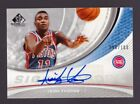 Isiah Thomas Autograph 100 2005-06 SP Game Used Edition Significance Auto Card