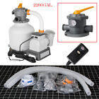 2200 Gallon Swimming Pool Flowclear Sand Filter Pump System Cleaner Timer NEW
