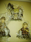Hummel Goebel Nativity Set Shepherds and Donkey