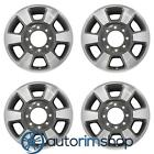 Ford F250 F350 2011 2016 18 Factory OEM Wheels Rims Set Machined with Charcoal