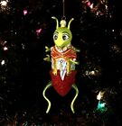Whopper Hopper blown glass Christmas ornament Way Out Bug Slavic Treasure Poland