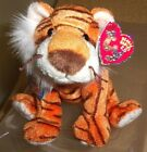 RARE & HTF Ty 2008 OASIS Beanie Baby 2.0-striped Tiger, Unused 2.0 Code/tag-MWMT