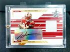 2005 Leaf Rookies And Stars Frank Gore Rookie Autograph Auto Game Jersey #41 50