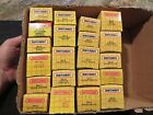 Lot of 21 Matchbox Vehicles mint in original yellow boxes 1980s 1990s