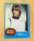 1977 Topps Star Wars BLUE SERIES #1 Luke Skywalker Card - *GREAT CONDITION*