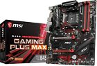 MSI B450 GAMING PLUS Max AM4 M2 USB 3 DDR4 DVI HDMI Crossfire ATX Motherboard